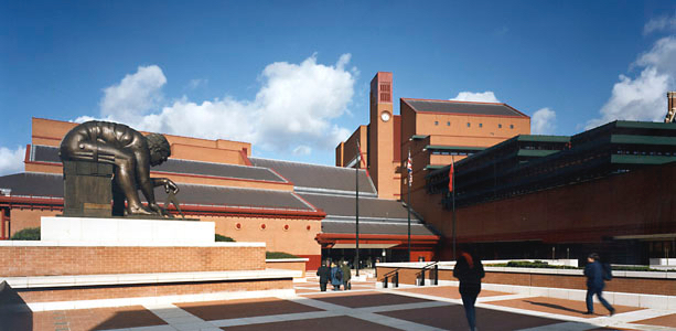 The British Library, St Pancras, London